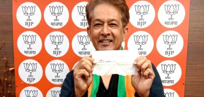Jawed Habib joins BJP!